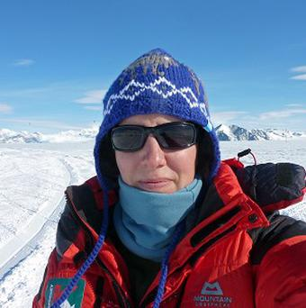 Felicity Aston has become the first woman to ski cross Antarctica alone (Kaspersky Lab)