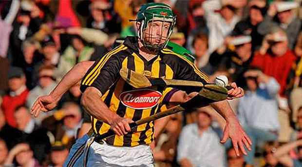 Henry Shefflin in action for Kilkenny