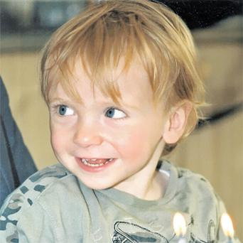 Pierce Nowlan (2), who suffered from haemophilia, died at Our Lady's Hospital, Crumlin, on October 14, 2004, after an artery was punctured during a standard procedure