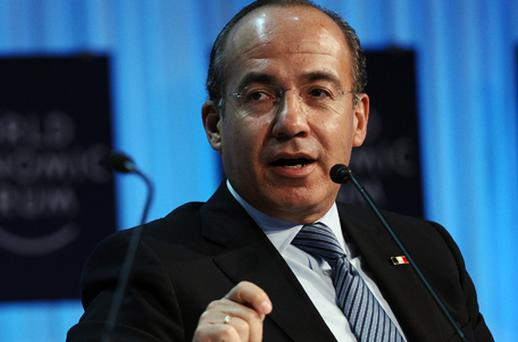 Mexican President Felipe Calderon. Photo: Getty Images