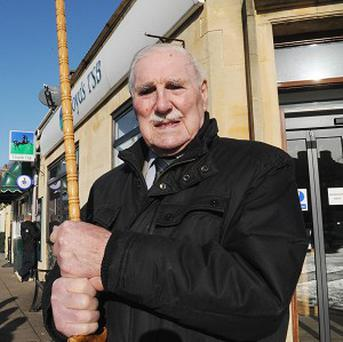 Former police officer Gordon King, 88, fought off a pair of robbers