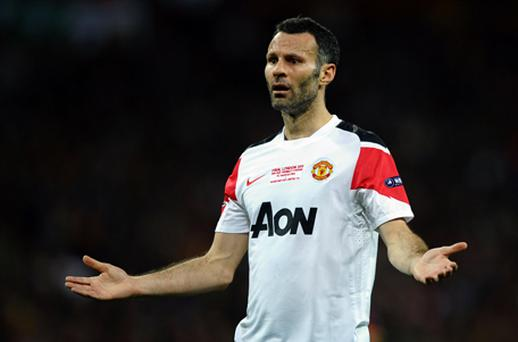 Ryan Giggs was named by tens of thousands of Twitter users as the holder of a super-injunction. Photo: Getty Images