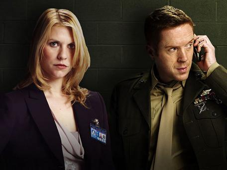 Claire Danes and Damian Lewis star in 'Homeland'