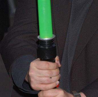 A US man has been jailed over attacking customers with a Star Wars light saber at Toys R Us