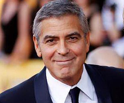 George Clooney was voted 'dream pilot' by travellers in a survey.