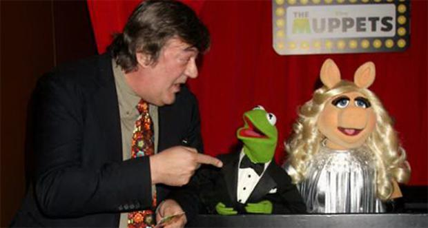 Actor Stephen Fry pictured recently at the UK Premiere of The Muppets