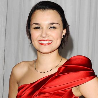 Samantha Barks. Photo: PA