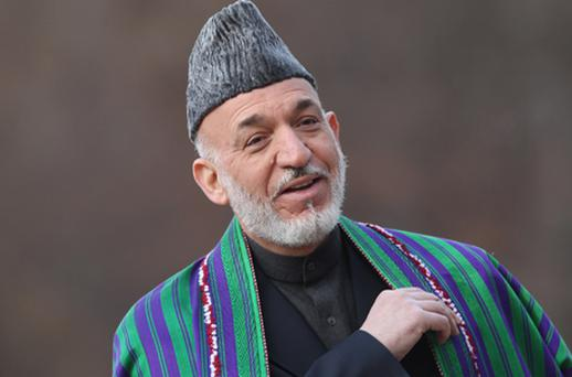 Washington insists eventual talks must be Afghan-led and involve Hamid Karzai's government. Photo: Getty Images