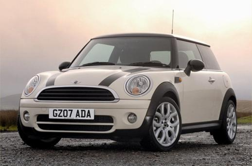 It emerged yesterday that BMW paid €299 to get the current cold front named 'Cooper' to advertise its Mini