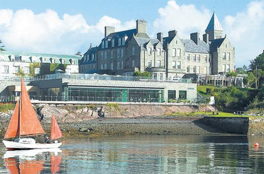 The Parknasilla Hotel in Kerry where the former taoiseach Bertie Ahern often spent part of the summer holidays