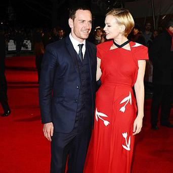 Carey Mulligan and Michael Fassbender