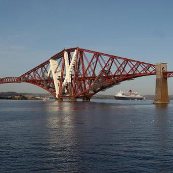 The Forth Rail Bridge in Fife is to receive a gold Blue Peter badge, the first time a structure has been given the honour