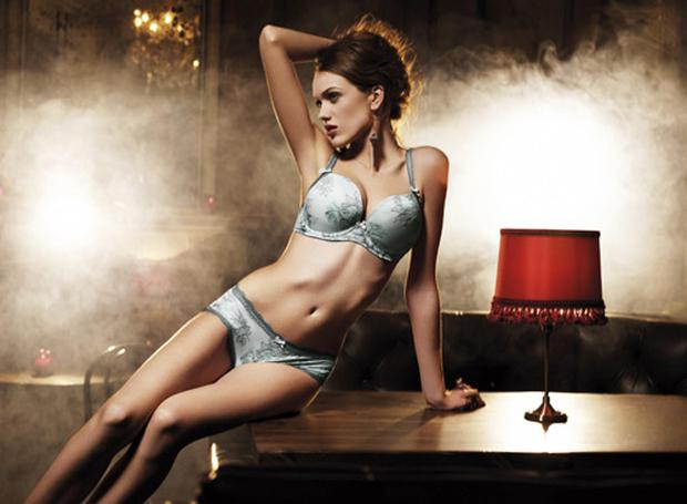 Evangeline bra, £68 and shorts, £32, Fauve (www.leialingerie.com). Photo: PA