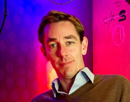 The Late Late presenter Ryan Tubridy pictured in RTE yesterday.Pic:Mark Condren8.9.2011