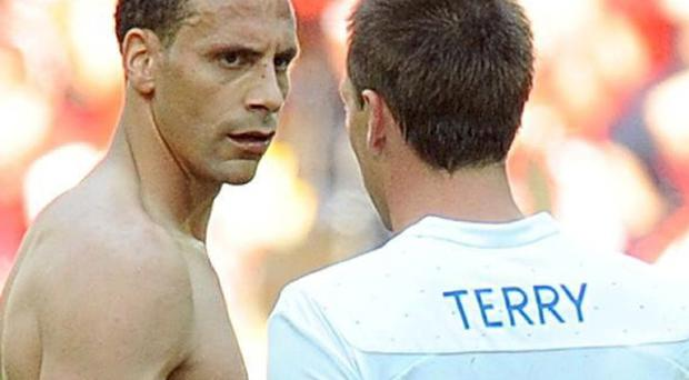 Rio Ferdinand and John Terry in 2011
