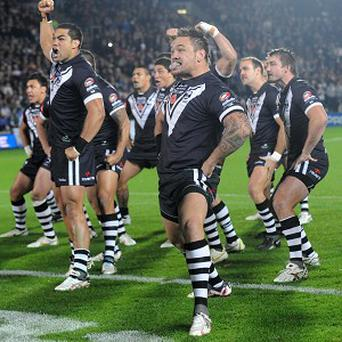 The New Zealand rugby team are famous for performing a haka before their matches