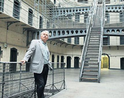 Martin Sheen visits Kilmainham Jail in Dublin