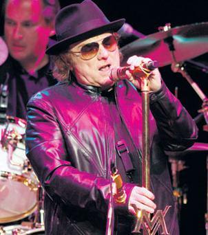 CRAZY LOVE: Van Morrison mesmerised his fans at the O2 in Dublin last night