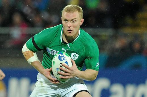 Keith Earls should be available for selection against France next weekend