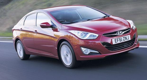 STYLISH: The overall economy and handling of the Hyundai i40 saloon is first class