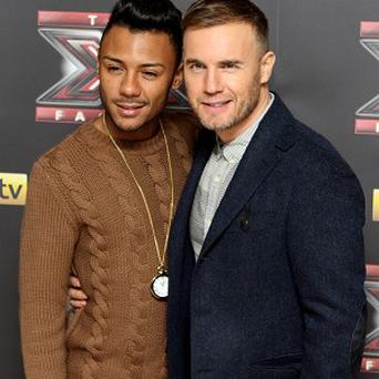 Marcus Collins says Gary Barlow gives him regular advice about his music career
