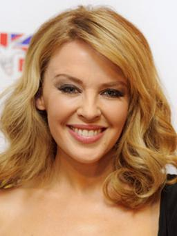Kylie Minogue is currently dating Spanish model Andres Velencoso
