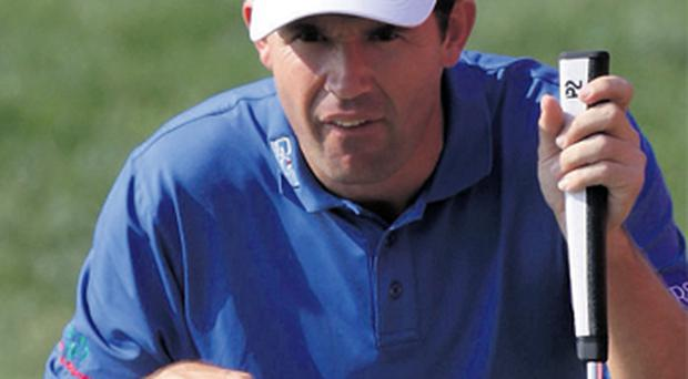 Padraig Harrington is looking to the new 'P2' putter grip created by Wicklow GC's Enda McLoughlin in a bid to rediscover his best form on the greens
