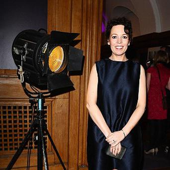 Olivia Colman wore a Victoria Beckham dress
