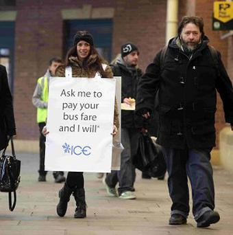 The majority of Brits were too cynical to take up an offer of free money, an experiment has shown (Mike Urwin/PA)