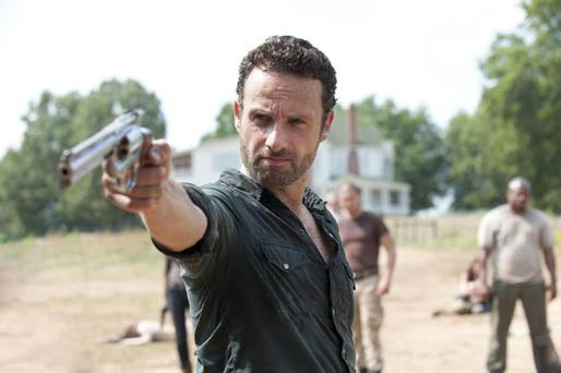 Andrew Lincoln - making a third series of The Walking Dead