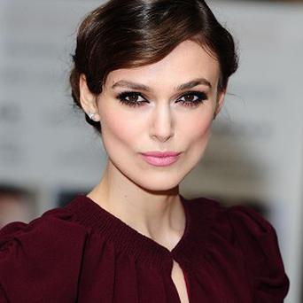 Keira Knightley tried out her facial ticks on Skype