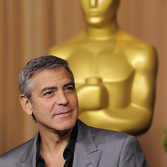 George Clooney was among the stars at the Oscars luncheon