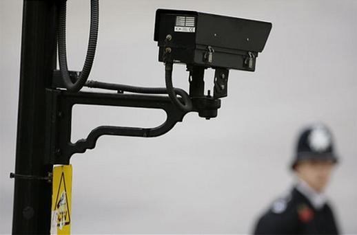 As the probationary officer from Sussex Police searched the area for suspects, the camera operator radioed that he had seen someone 'acting suspiciously' in the area