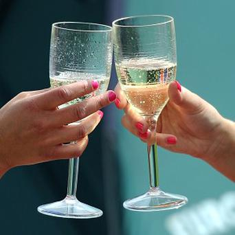 Champagne tastes different depending on the shape of the glass, researchers found
