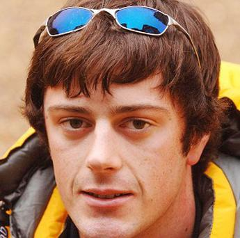 British adventurer Alex Hibbert called his father back in the UK for help when his tent was destroyed in a storm in Iceland