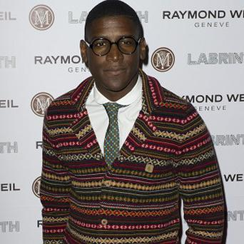 Labrinth says he hasn't had any arguments with Simon Cowell yet