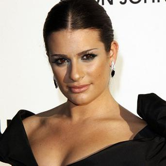 Lea Michele played Wendla in the Broadway musical