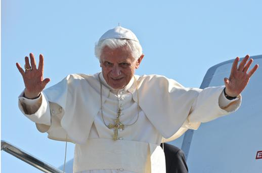 Pope Benedict. Photo: Getty Images