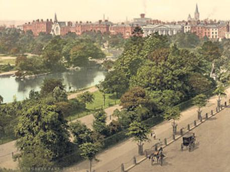 St Stephen's Green over one hundred years ago