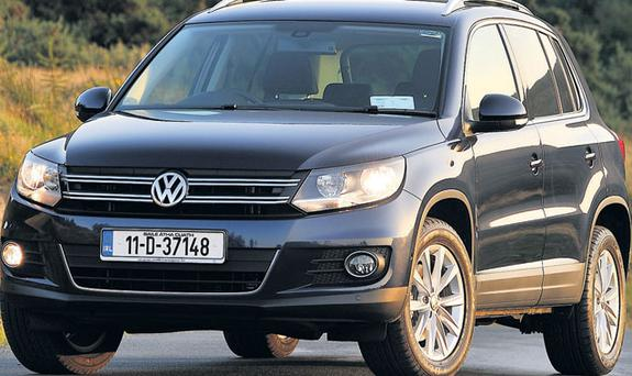 To the point: The understated Tiguan emphasises driveability over looks