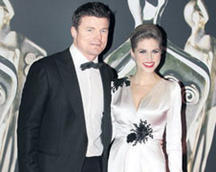 AVOIDING FRANCE: Brian O'Driscoll and Amy Huberman