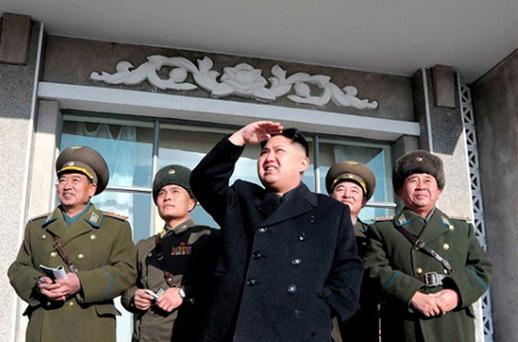 Kim Jong-un, the new leader, came to power in December Photo: Reuters