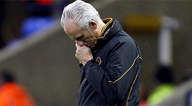 Wolves manager Mick McCarthy has been sacked