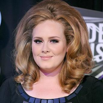 Adele's song is the romantic track which has had most public plays in the last year