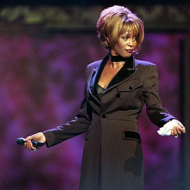The late singer Whitney Houston pictured in 1998 (AP)