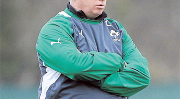 Declan Kidney has shelved plans for two-day training camp in Belfast