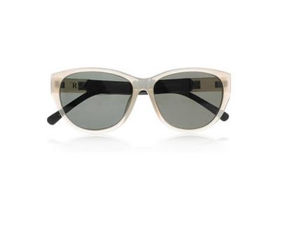 The Row D-frame acetate and leather sunglasses €140.40 reduced from €351 60% off on theoutnet.com
