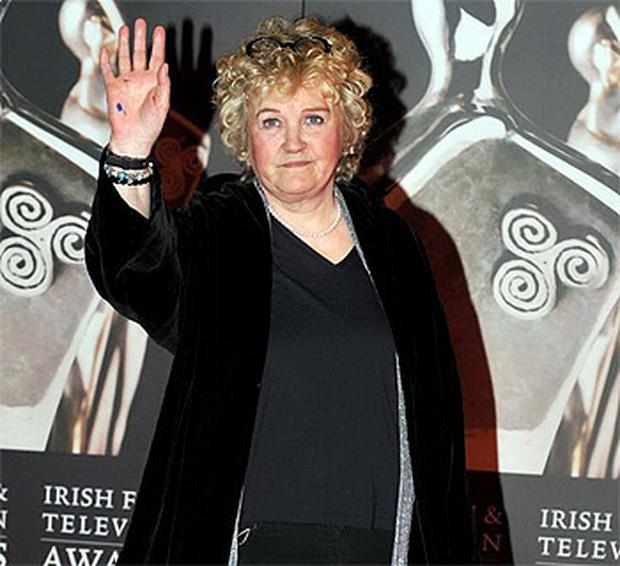 Brenda Frickers pictured at the IFTAs at the weekend