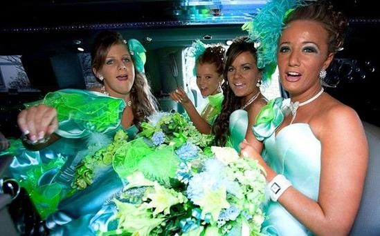 Traveller girls head to more nuptials in the return of the C4 series. Photo: Channel 4