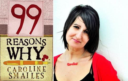 Caroline Smailes's latest work 99 Reasons Why has a choice of 11 possible endings